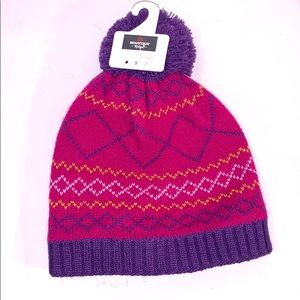 NWT 2/$20 Fleece Lined Knitted Winter Hat Toque